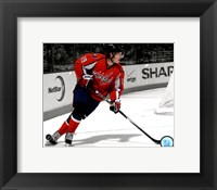 Framed Nicklas Backstrom 2010-011 Spotlight Action