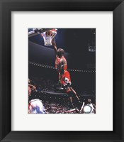 Framed Michael Jordan 1995-96 Action