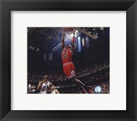 Framed Michael Jordan 1996-97 Action