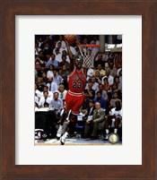 Framed Michael Jordan 1994-95 basketball