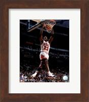 Framed Michael Jordan 1996 Action
