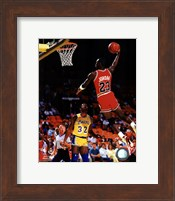 Framed Michael Jordan Action