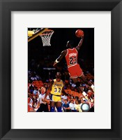 Framed Michael Jordan Action
