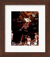 Framed Michael Jordan 1998 Action