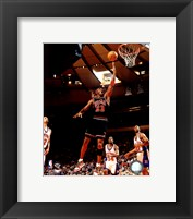 Framed Michael Jordan 1998 Action