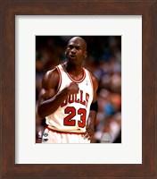 Framed Michael Jordan 1994-95 basketball Action