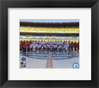 Framed Washington Capitals Team Photo 2011 NHL Winter Classic