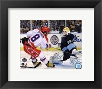 Framed Alex Ovechkin 2011 NHL Winter Classic Action