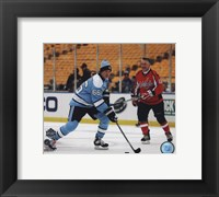 Framed Mario Lemieux 2011 NHL Winter Classic Alumni Game Action