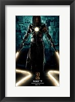 Framed Iron Man 2 Laser Whips