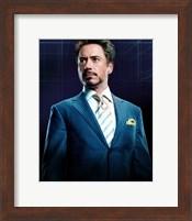 Framed Iron Man 2 Robert Downey Jr.