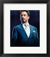 Framed Iron Man 2 Robert Downey Jr.