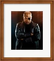 Framed Iron Man 2 Nick Fury