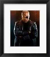 Framed Iron Man 2 Nick Fury