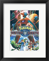 Framed Pokemon: Destiny Deoxys