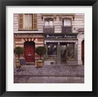 Framed French Store I