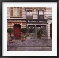 Framed French Store I