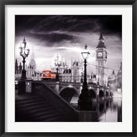 Framed London Bus III