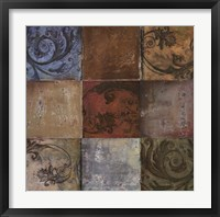 Moroccan Patch II Framed Print