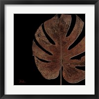 Black Balazo II Framed Print
