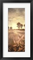 Distant Season Panel Framed Print