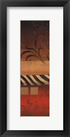 Red Collage II Framed Print