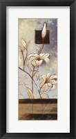 White Lilies I Framed Print