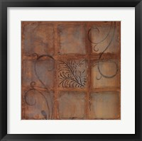Tile Motif I Framed Print