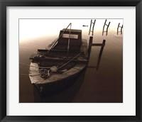 Framed Boat III (Sepia)