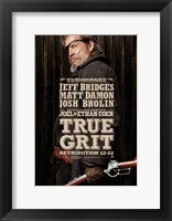 Framed True Grit Josh Brolin