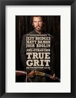 True Grit Jeff Bridges Framed Print