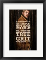 True Grit Matt Damon Framed Print