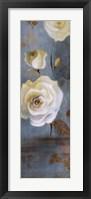 Late Summer Roses Framed Print