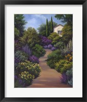 Framed Garden Path II