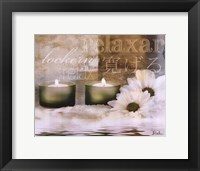 Relaxation I Framed Print