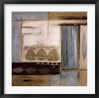 Fall Abstract II Framed Print