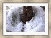 Framed Phares Dans La Tempte- La Jument