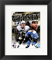 Framed Sidney Crosby 2011 Portrait Plus