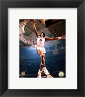 Framed Julius Erving 1974 Action