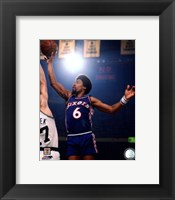 Framed Julius Erving 1975 Action