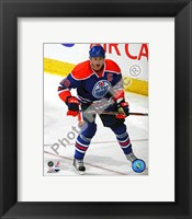 Framed Shawn Horcoff 2010-011 Action