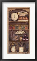 Farmhouse Pantry I Framed Print