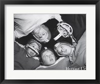 Framed Huddle Up
