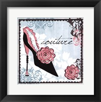 Couture Framed Print
