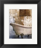 Bath Room & Ornaments I Framed Print