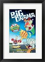 Framed SpongeBob SquarePants - Big Drama