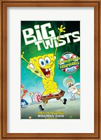Framed SpongeBob SquarePants - Big Twists