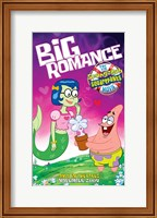 Framed SpongeBob SquarePants - Big Romance
