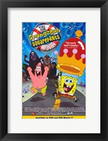 Framed SpongeBob SquarePants Movie Cartoon