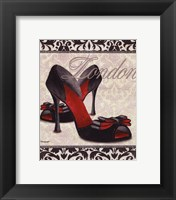 Framed Classy Shoes I - mini